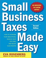 Small Business Taxes Made Easy book cover