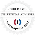 Investopedia 2017 100 Most Influential Advisors | Curtis Financial Planning